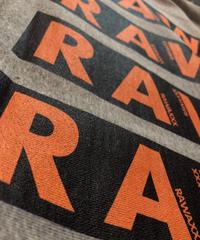 RAW heavy foodie 【gray】XXL