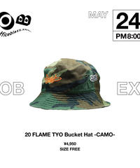 BZWS TAG BUCKET HAT [CAMO]