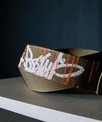 -KB- GI belt (White)(khaki)