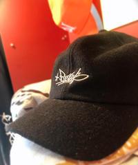 BZWS TAG wool CAP【BLACK】