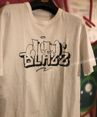 chitto×blazz tee(White)L
