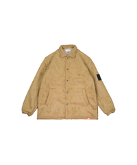 SMOKE ISLAND  BOA MOUTON JACKET [BROWN]