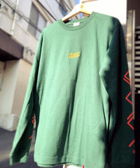 LIVING MADE L/S TEE [GREEN] L