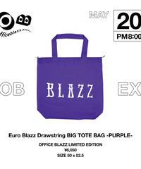 Euro Blazz Drawstring BIG TOTE BAG [PURPLE]