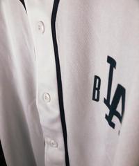 myblzz sample ver DRY baseball shirt (White)XL
