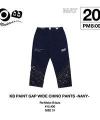KB GAP WIDE CHINO PANTS [31]