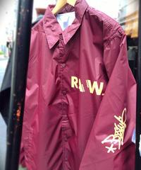 artist model ver RAWAXXX coach jacket 【 wine】L