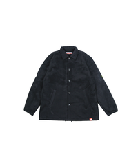 SMOKE ISLAND  BOA MOUTON JACKET [BLACK]