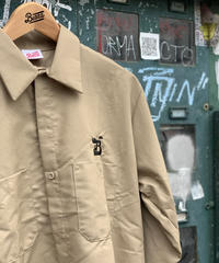 blazz logo work shirt M