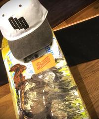 OLD VINTAGE CAP [WHITE/BLACK]
