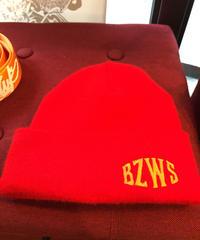 beanie【RED】ベルト【orange】