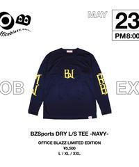BZSports DRY L/S TEE [NAVY]