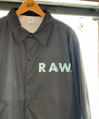 artist model ver RAWAXXX coach jacket 【BLACK】/XL