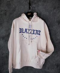 BLAZZERS TEAM CREW HOODIE(White)L