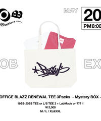 OFFICE BLAZZ RENEWAL TEE 3Packs -Mystery BOX- (M)