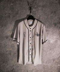 myblzz sample ver DRY baseball shirt (gray)L