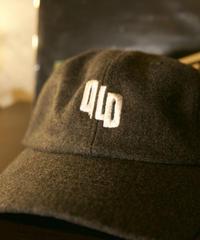 OLD wool CAP 【gray】