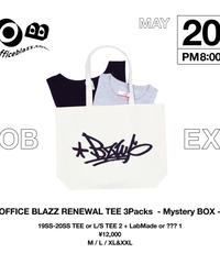 OFFICE BLAZZ RENEWAL TEE 3Packs -Mystery BOX- (L)