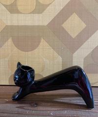 黒猫の貯金箱?花瓶