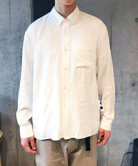 【ELVIS】BD COLLAR SHIRTS -WHITE-