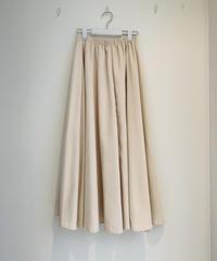 細コーデュロイAラインスカート