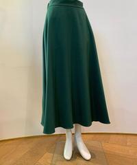 グリーンAラインスカート