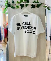 men's ビッグロゴTシャツ (ホワイト)