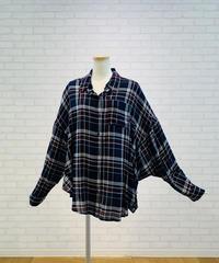 BIGシルエット・チェックシャツ