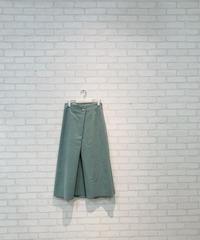 ラップ風エコスウェードスカート