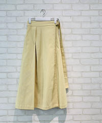 【2021春ご予約】フリンジツイルラップスカート