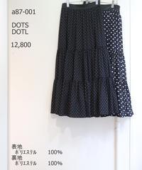 【アナナanana22pre‐SPRINGご予約】ドットティアードスカート