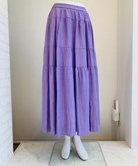 楊柳綿ティアードスカート
