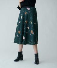 【BEATRICE'21秋冬ご予約】 ラインアートプリントスカート