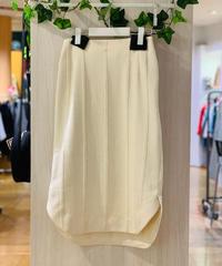 綿ジャカード・ストレートスカート(セットアップ)