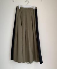 シフォン&タフタプリーツスカート
