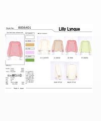 【リリーリーン Lilly Lynque 22SPRINGご予約】エコフィール カラースキームニット