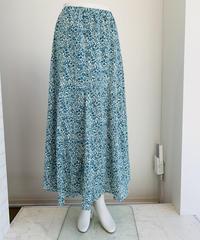 14枚接ぎ小花printスカート