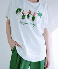 【マルゴー MARGAUX 春ご予約】フラ刺繍Tシャツ