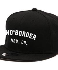 BASIC LOGO FLAT CAP - BLACK