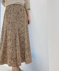 【2021春ご予約】小花柄サーキュラー切り替えスカート