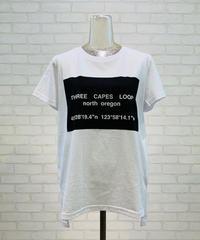 【再入荷】スクウェアBOXプリント  ロゴTシャツ
