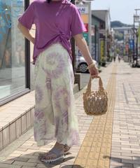 TIE-DYE Aラインスカート