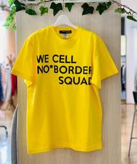 men's ビッグロゴTシャツ (イエロー)