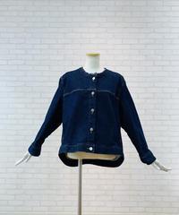 【2021春ご予約】バックテイルストレッチDenimジャケット