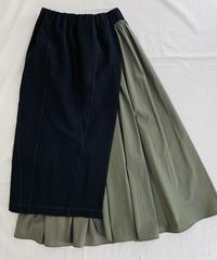 タイト&Aライン  ドッキング2WAYスカート