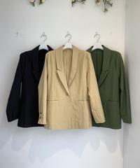 ソフト綿テーラードジャケット