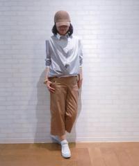 【2019初秋】 アシンメトリーストライプシャツ