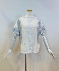 ●インスタLive● 両面着用・綿ローン刺繍スモッグブラウス