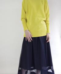 【マルゴー MARGAUX 春ご予約】メッシュflareスカート
