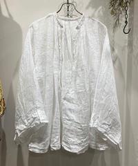 "1900's French Antique""Church Smock"" Linen(1900's フランス アンティーク チャーチスモック リネン)"